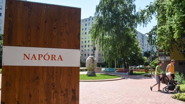 A Zöld város kialakítása Odessza akcióterületen című, TOP-6.3.2-16-SG1-2017-00001 azonosítószámú projekt zöldfelületi rekonstrukció építési munkáinak