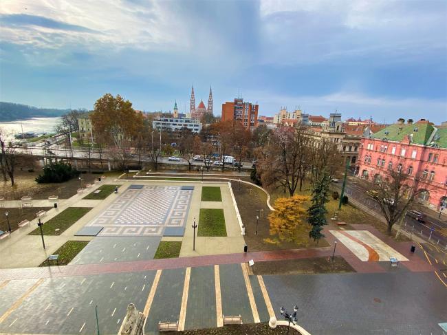 Zöld város kialakítása a Belvárosban